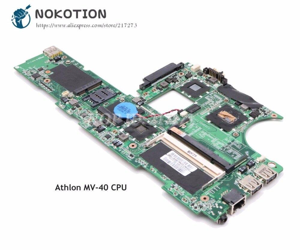"NOKOTION para Lenovo ThinkPad X100E placa base de computadora portátil DAFL3BMB8E0 75Y4064 11,6 ""Tablero Principal Athlon MV-40 CPU"
