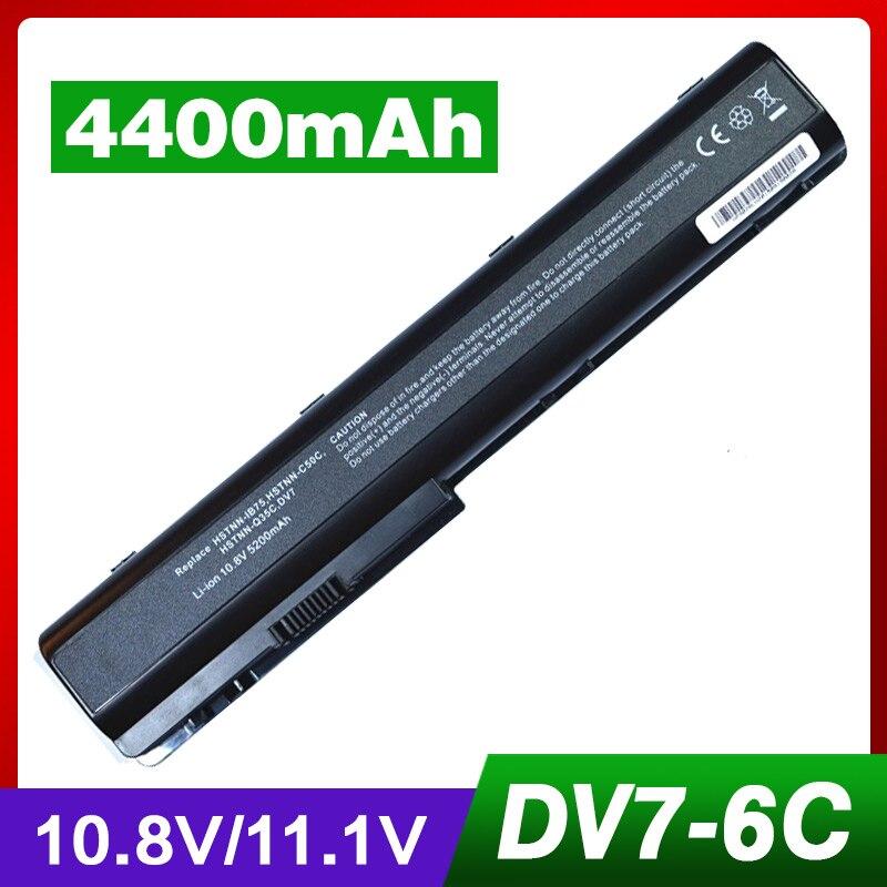 Аккумулятор для ноутбука dv7 для HP KS525AA HDX18 HDX18t Pavilion dv7t dv7z dv7-1200 dv7-2000 dv7/CT DV7-3000 dv8 dv7t-1000 dv8t