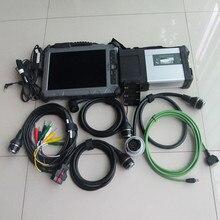 Mb star c5 sd connecter avec SSD v2020.6 dernier logiciel installé i7 ordinateur portable ix104 8G multi-langues mb sd c5 pour mb voiture et camion