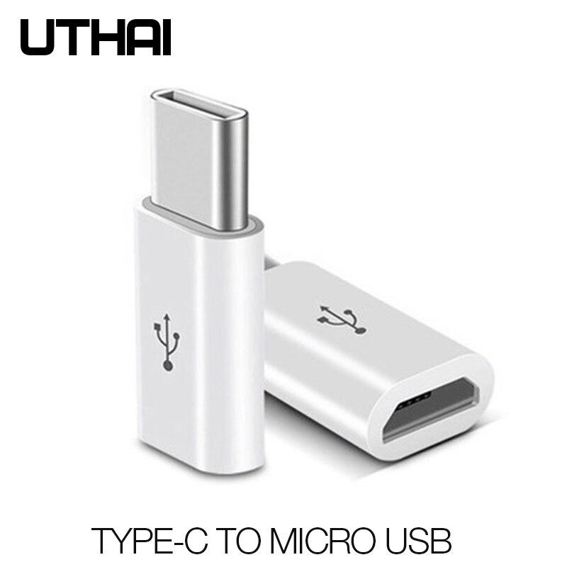 UTAHI C29 тип-c к mi cro USB адаптер Android V8 к USBC конвертер для Letv Xiaomi mi 5X Oneplus samsung S8 Plus NK-Shopping