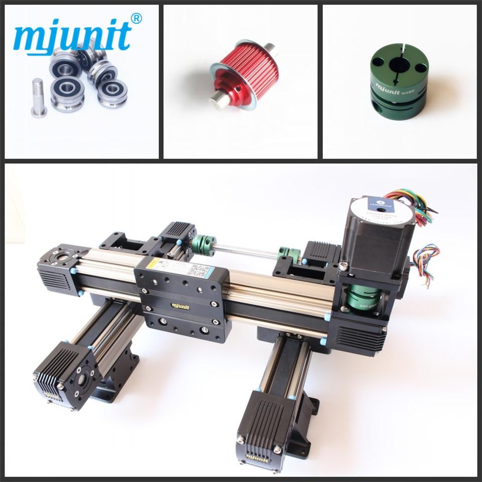 Mjunit ماكينات الآلي المصغرة خطية/دليل خطي الشريحة كتلة/3 محور الخطي عالية السرعة التطبيق
