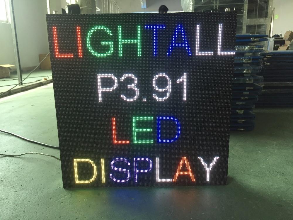 P3.91 indoor-LED-panel, 500X500 aluminium-druckguss schrank, vollfarbe video-led-display, P3, P4, P5, P6, P8 führte videowand,