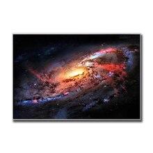 Galaxy Nebula Raum Astronomie Universum Wolken Wohnzimmer Dekoration Maison Starry Sky Hause Sterne Leinwand Malerei Cuadros