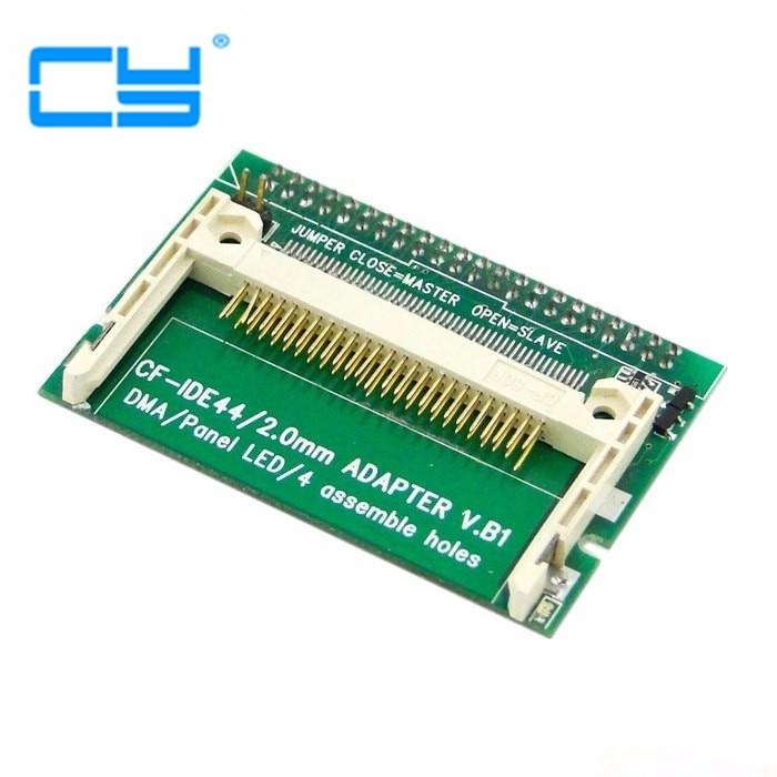 "1 шт./CF компактная флеш-карта Merory для вертикального 2,5 ""44 Pin IDE жесткого диска HDD SSD адаптер"