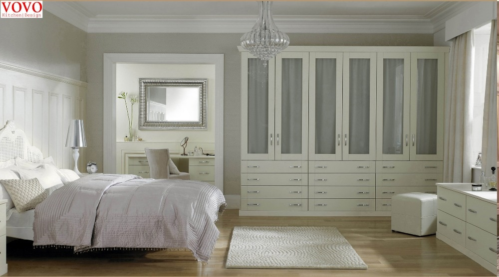 Белый шкаф для спальни с каркасом из фанеры|bedroom closet|closet |