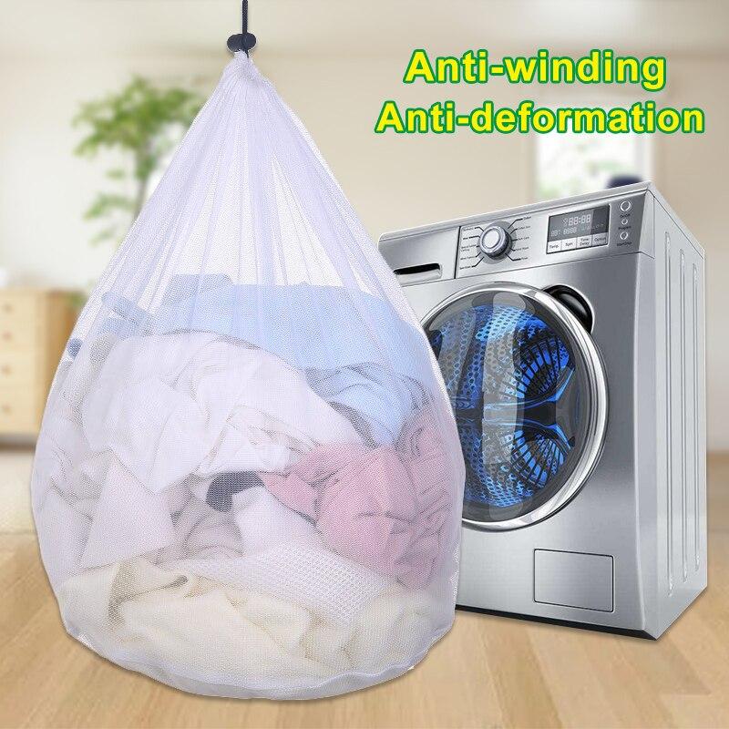 Bolsa de lavado de ropa de lavandería, protección plegable, filtro de red, ropa interior, sujetador, calcetines, lavadora, cestas de lavandería