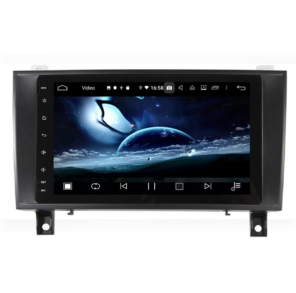 DSP reproductor de DVD para coche con Android 9,0, 4GB de RAM, 8 núcleos, para Mercedes Benz SLK Class R171 W171, Radio Estéreo, GPS, WIFI, USB, Bluetooth 5,0