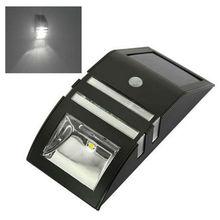 2x2 LEDs extérieur solaire capteur de mouvement PIR sécurité mur lumière chemin lampadaire facile à installer et résistant à leau lampe solaire
