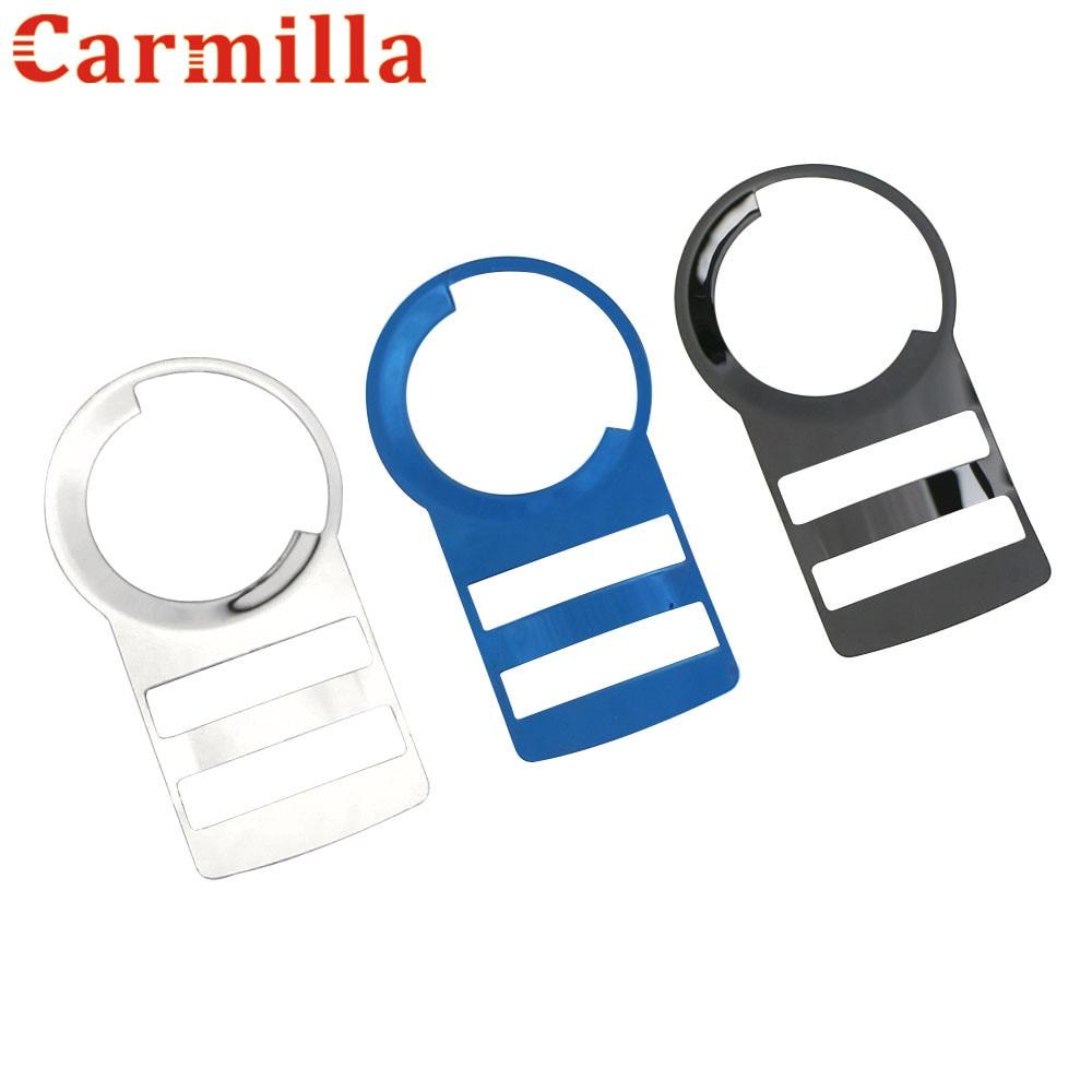 CARMILLA аксессуары для CHEVROLET CRUZE MALIBU TRAX для OPEL MOKKA ASTRA J INSIGNIA ручка переключатель фар накладка наклейка