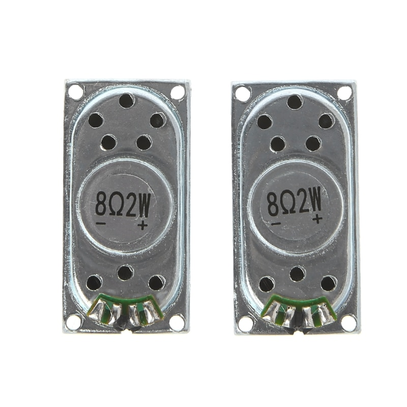 1 par de Mini altavoces de Audio 2040 8Ohm 2W para ordenador portátil