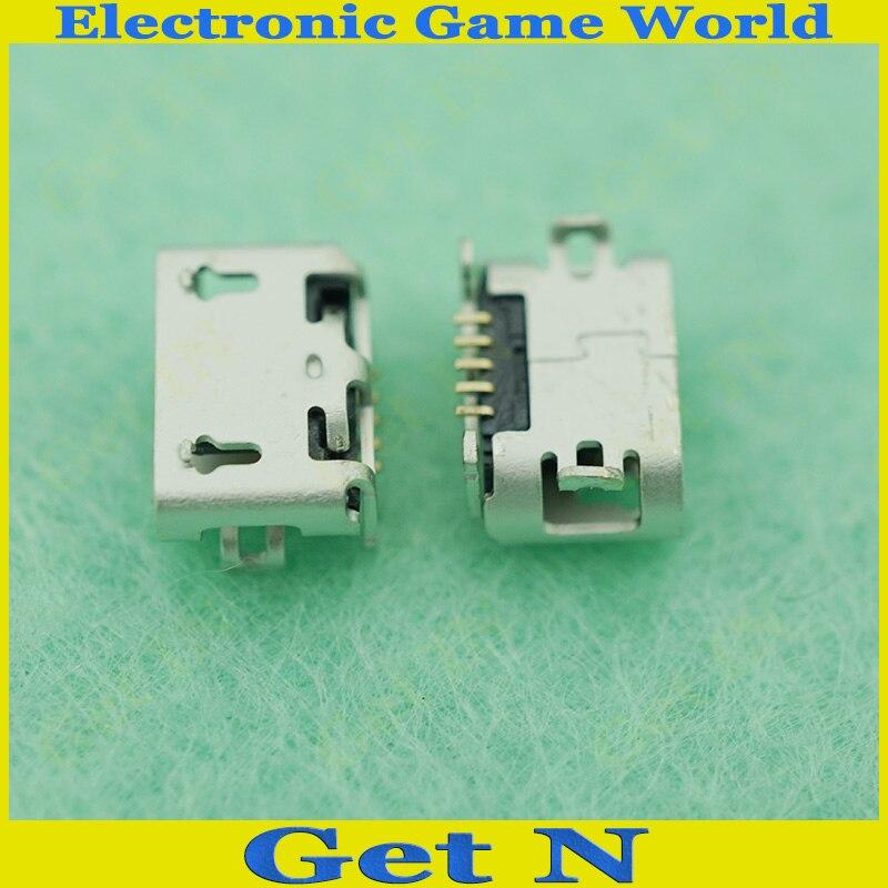 500 قطعة مايكرو USB جاك USB موصل لهواوي G710 A199 G610 G750 G730 G700 P6 مايكرو USB ميناء