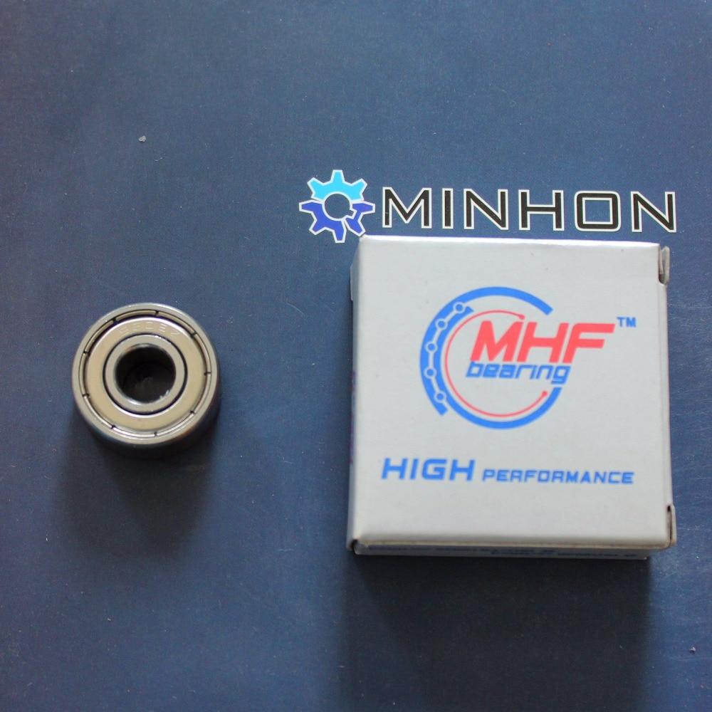 شحن مجاني MHF 50 قطع SS608ZZ 608ZZ SS الكرة أخدود عميق تحمل حجم 8*22*7mm أفضل سعر عالية الأداء