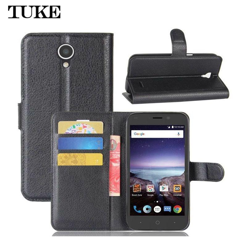 TUKE For ZTE Prestige 2 Case Cover 5.3 Flip Leather Wallet Cover Case For ZTE Prestige2 N9136 N 9136 Soft Silicone Phone Case