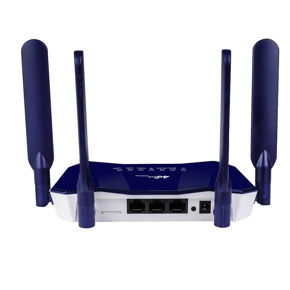 Enrutador inalámbrico Wifi 300Mbps enrutador interior LTE 4 antena rango completo de señal