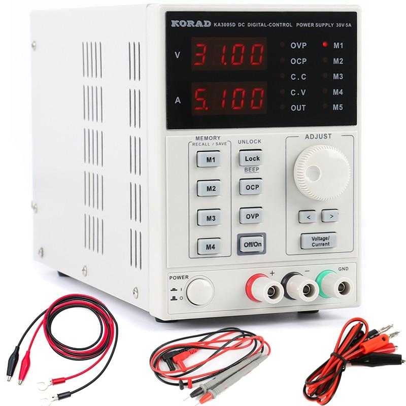Laboratory DC Power Supply KA3005D High Precision Adjustable Digital Linear 30V/5A 10mV/1mA 110V/220V For Phone Test Repair