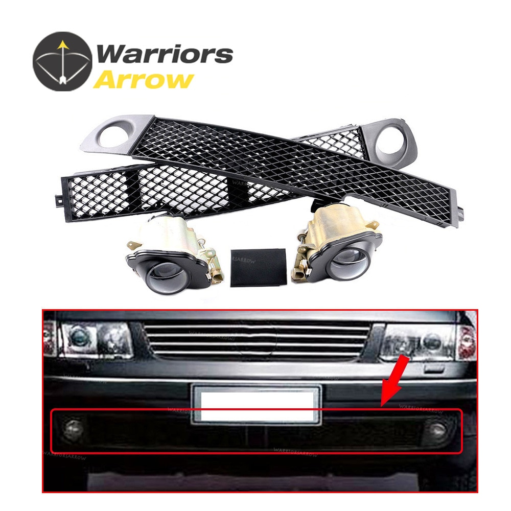 5 шт. набор 3B0941699 3B0941700 для VW 1997-2000 Passat B5 x5 набор передних противотуманных фар решетка бампера левая средняя правая накладка