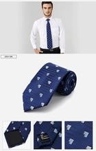 Nouveau hommes cravates 8.5cm Plaid rayé cravate marine soie Jacquard tissé cou cravate costume de mariage fête Graduation cadeau 100% vraie soie