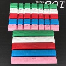 8 chaves Keycaps PBT Dupla tiro Retroiluminado Translucidus Adições Para Corsário STRAFE K65 K70 Teclado Logitech G710 + Mechanicalgaming