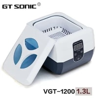 hot sale vgt 1200 professional jewelry razor blades denture nail tools combs ultrasonic cleaner 1 3l with timer 110v 220v