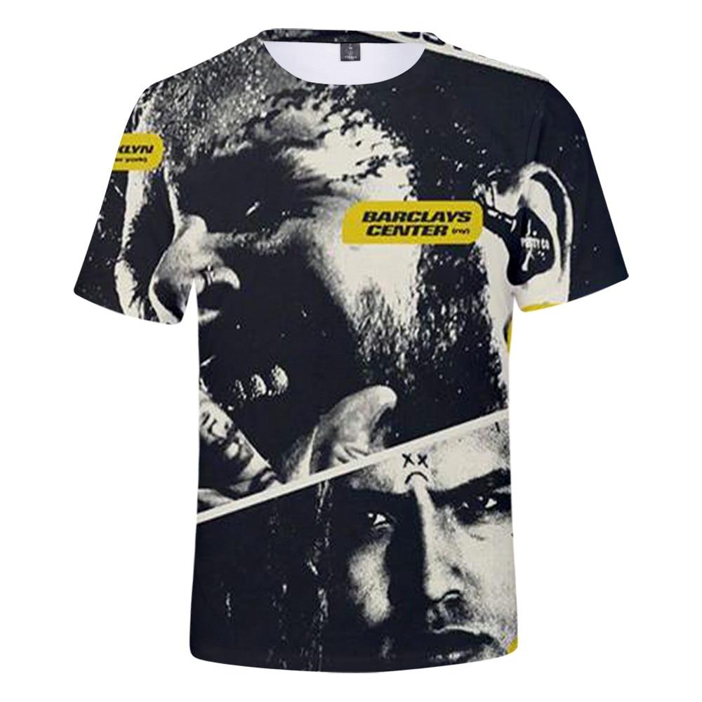 2019 Post Malone camiseta Harajuku Camisetas Hombre Ropa streetwear harajuku manga corta Kpop pops Camisetas talla grande estilo callejero