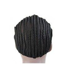Casquettes de perruque tressées raffinées casquette de Cornrows de Crotchet pour coudre plus facilement les casquettes pour faire des perruques