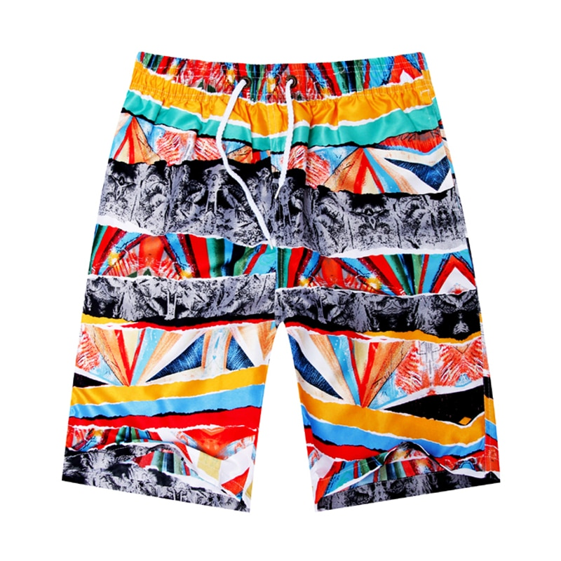 Novo shorts de praia verão shorts flor listra estrela muitos estilos casal terno usar agasalho causal