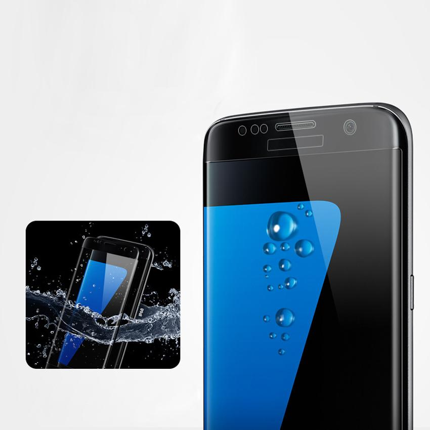 3D Tempered Glass Screen Protector Case Friendly For Samsung Galaxy S8 S8 Plus
