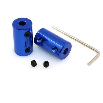 Aluminum Alloy 5mm rigid coupling for nema 17 stepper motor shaft coupling model metal model DIY