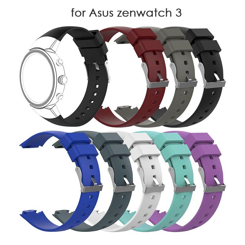 Accesorios para el ZENWATCH 3 banda de reloj pulsera de silicona de...