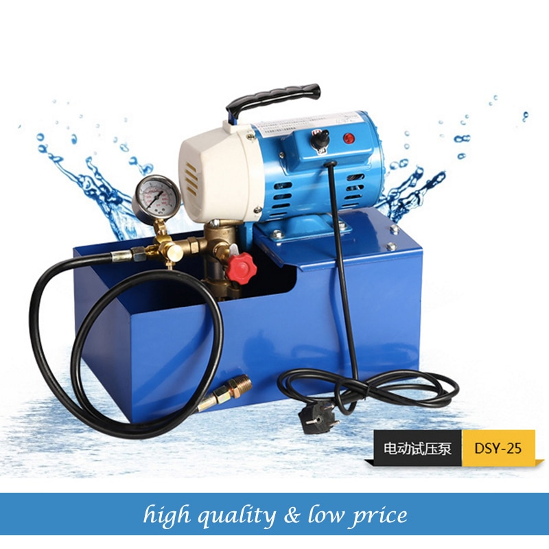 25KG/2.5Mpa Chemical 150w Electric Test Pump