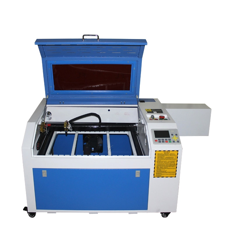 ليزر سطح المكتب 6040 4060 PRO 80W ، USB ، محور دوار ، CO2 ، آلة قطع المعادن ، مع نظام غير متصل