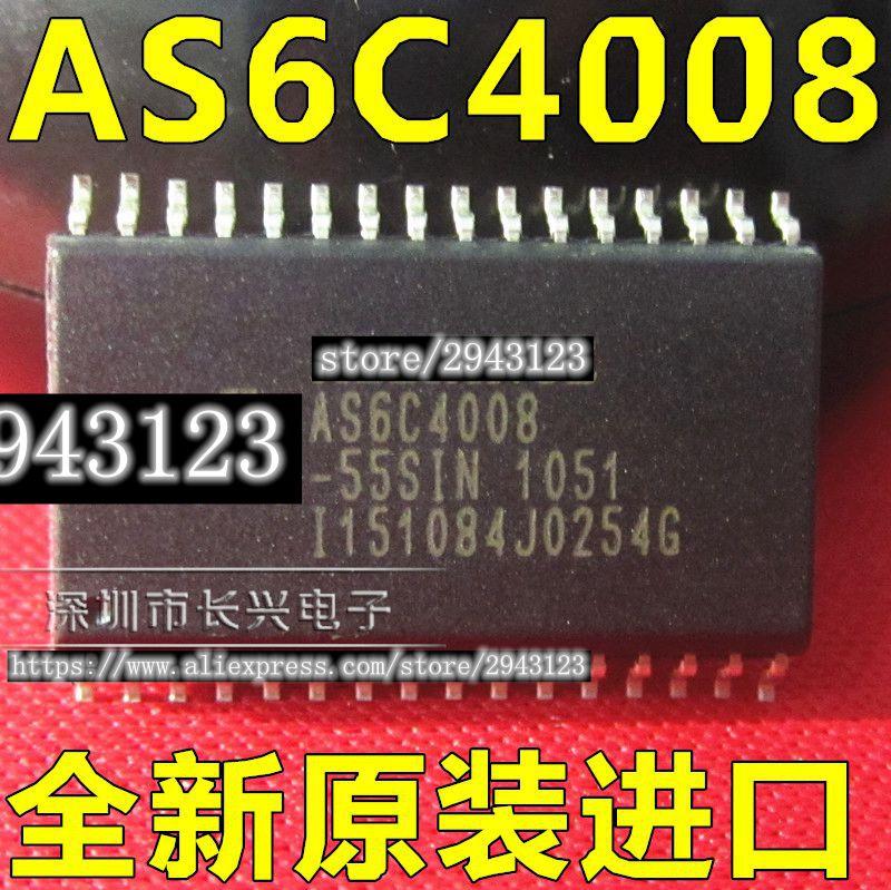 1PCS    AS6C4008-70SIN  AS6C4008-55SIN