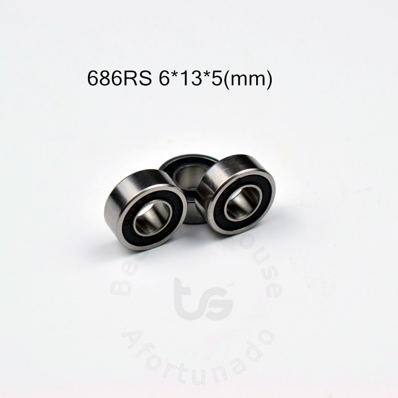 686rs-6-13-5-mm-10pieces-bearing-free-shipping-abec-5-bearings-10pcs-rubber-sealed-bearing-686-686rs-chrome-steel-bearing