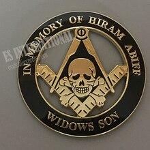 Badge de voiture Masonic taille 3 '  Emblème de voiture Masonic, Badge de maçon, MCE30