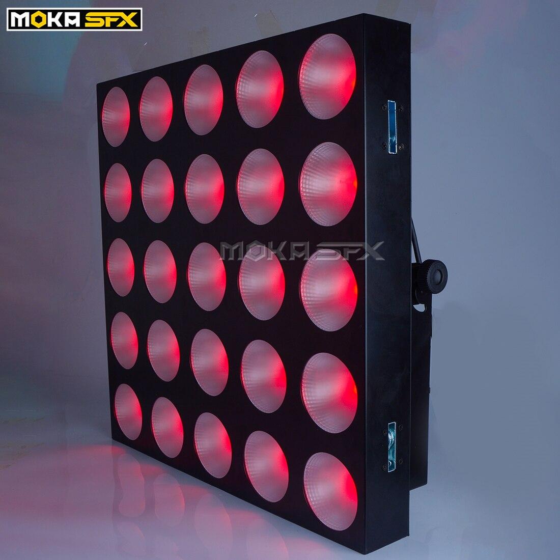 Bar DJ Party Stage Effect Lighting 30W AC100V-240V 50/60Hz LED Matrix Lights Auto / Master/Slave / DMX Of Control Mode 6Pcs/Lot