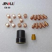 22 pièces de torche de coupe Plasma pour CB50 CB 50 CP50 CP 50 CB-50 Cebora LT50 LT 50 LT-50 coupe svarog 40b
