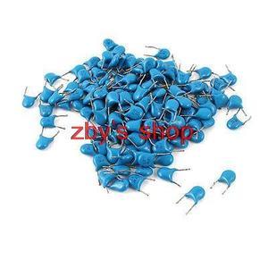 Керамические дисковые конденсаторы 150 +-2% штук, синие 12pF DIP, 3000 в