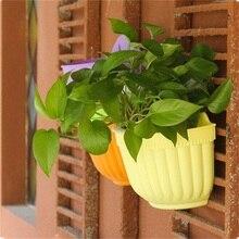 Groot-Pots de fleurs de jardin en plastique   Maison, paniers muraux, Pot de jardinières suspendus, panier de fleurs