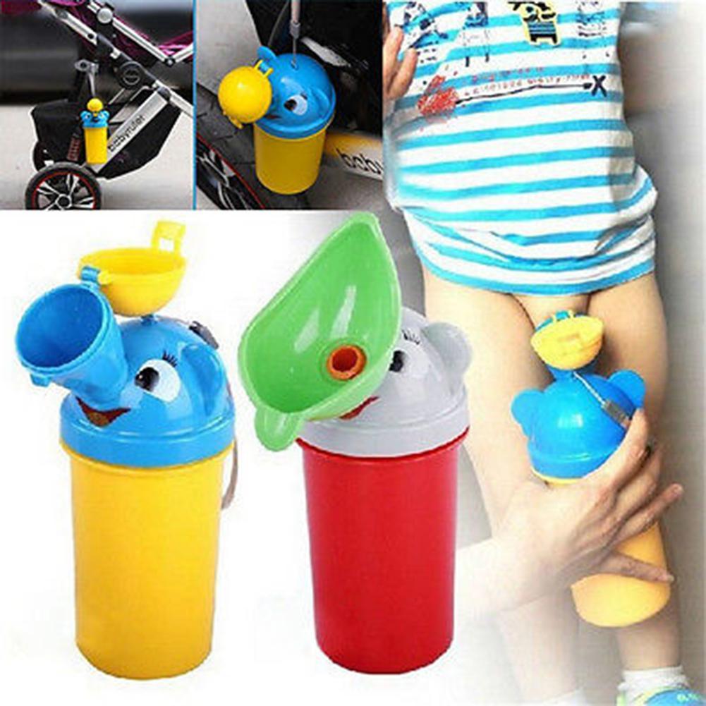 Cartoon Car Portable Children Potty Toilet Kids Urinal for Boys Girls Bathroom for kids travel