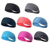 Sweatband Headband Perfect For Yoga Basketball Running Football Tennis Sports Multi-function Athletic Breathable Hot Overgrip