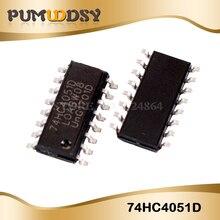 10 Pcs 74HC4051D SOP16 74HC4051 Sop SN74HC4051DR Smd Nieuwe En Originele Ic
