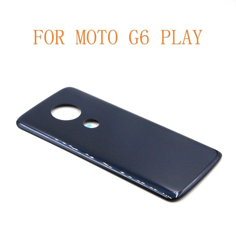 10 قطعة شحن مجاني G6 تشغيل باب البطارية حالة الغطاء الإسكان استبدال جزء ل موتورولا موتو G6 اللعب
