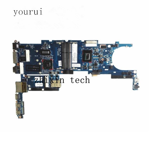 Placa base de ordenador portátil yourui 702849-001 702849-501 702849-601 para HP EliteBook Folio 9470M 6050A2514101 PLACA DE SISTEMA DE i5-3427U