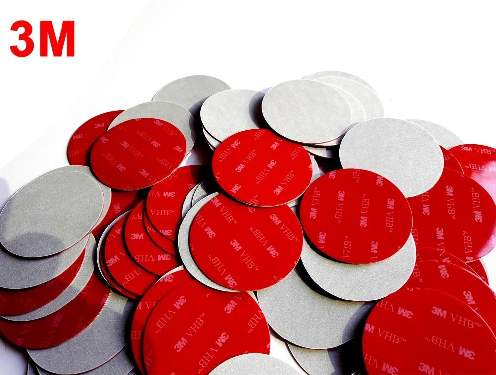 1000Pcs/lot 58mm Round 3M VHB 5608 Double Sided Adhesive Acrylic Foam Tape Mounting Tape Gray Diameter 58mm Disc Circle