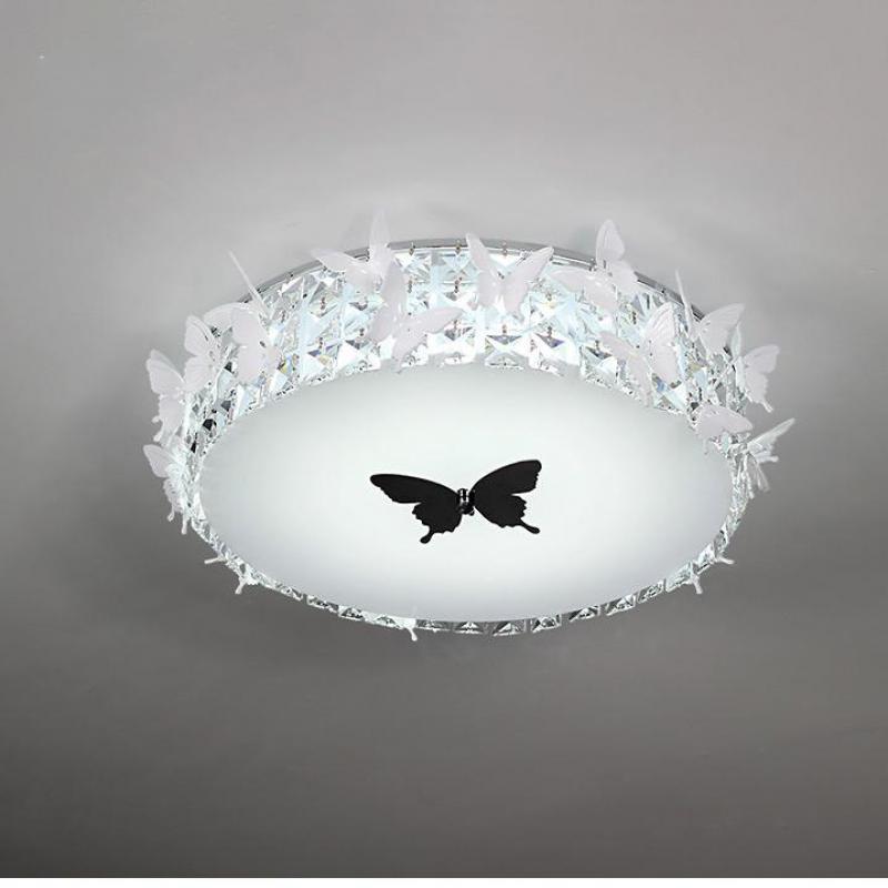 Lámpara Led de Techo de mariposa para oficina en el hogar, lámpara Led para bodas, iluminación para dormitorio, estudio, lámpara led de Techo de 24/36 W, lámpara Led para Techo, aplique