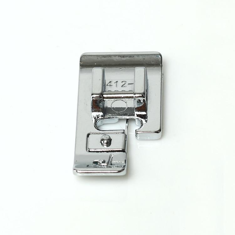 Multi-función, costura eléctrica, selvedge J presser pie aplicable Husqvarna vIkIng 4138006-45