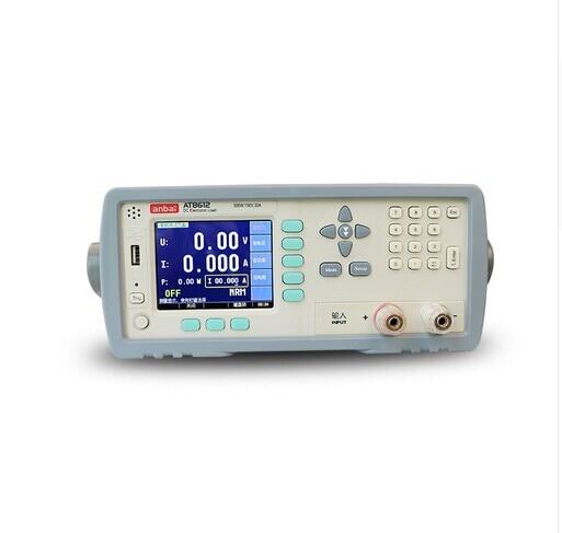 Alta calidad AT8612 DC programable carga electrónica 300W 150V 30A 3,5 TFT LCD RS232 DHL EMS UPS envío gratis rápido