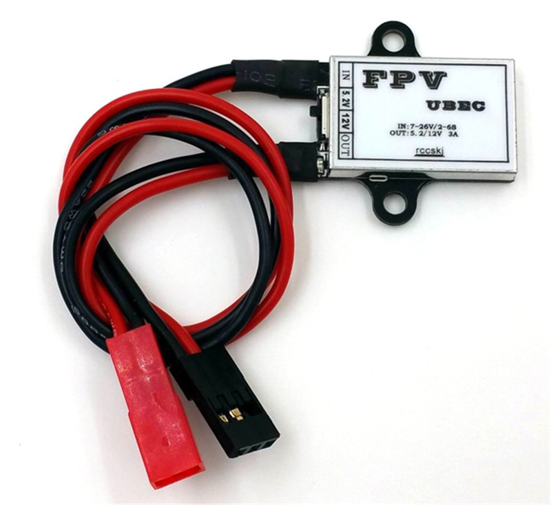 FPV UBEC/FPV BEC/UBEC Bildübertragung Stromversorgung 12 V RC Hubschrauber Zubehör Ersatzteile