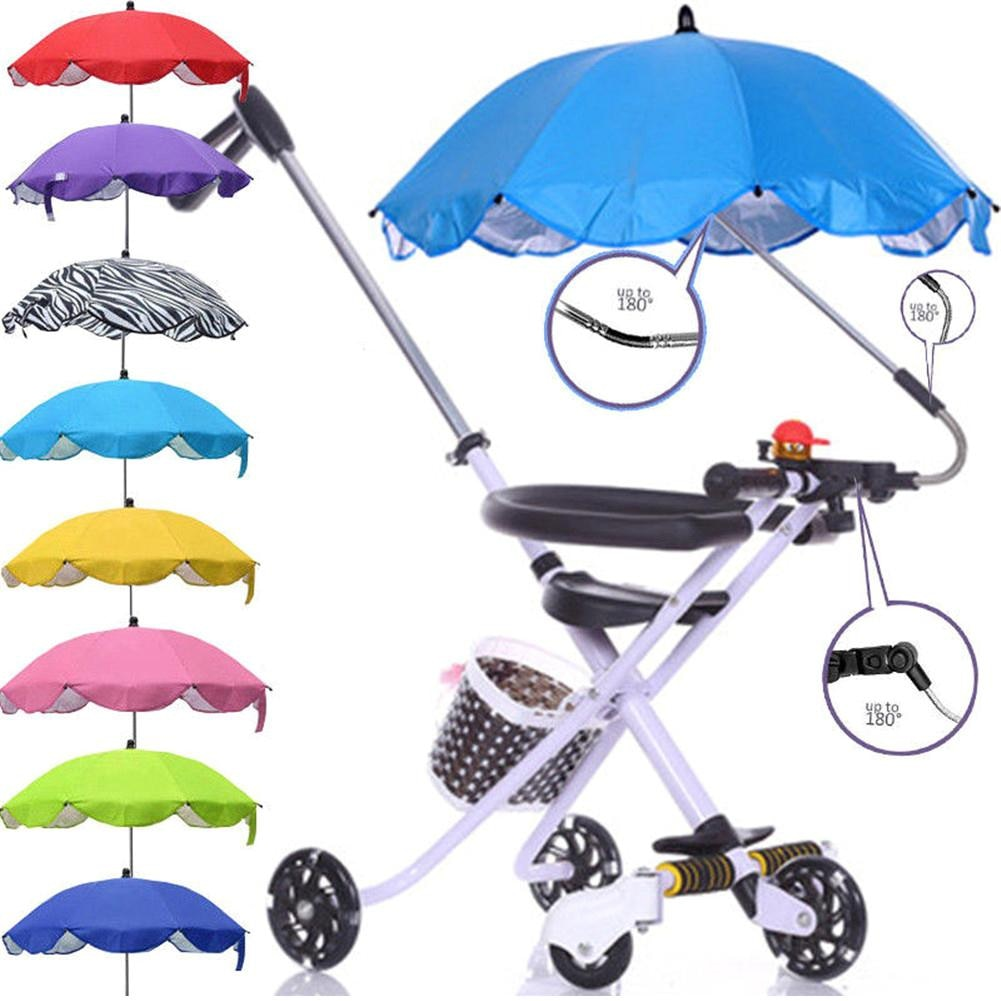 Детский зонт от солнца, коляска-коляска, навес для коляски, аксессуары для детской коляски, Солнцезащитный зонт