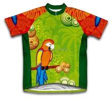 حار بيع جديد أريفا parrot paradise كيد الملابس دراجة دراجة الدراجات جيرسي دراجة ciclismo الدراجات قصيرة الأكمام جيرسي
